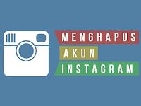 Cara Mudah Menghapus Akun Instagram Terbaru 2019