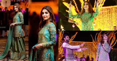 Beautiful Dance Performance of Maya Ali at her friend Host and News anchor Abdullah Sultan's wedding