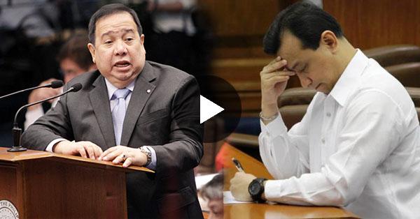 WATCH: Sen.Trillanes Kinasohan ng Libel Handa na ang Rehas Para Sayo