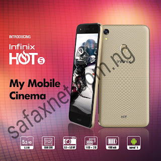 Infinix Hot 5 Full Specifications And Price
