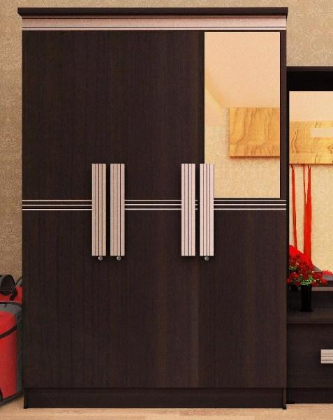 model lemari pakaian 3 pintu terbaru