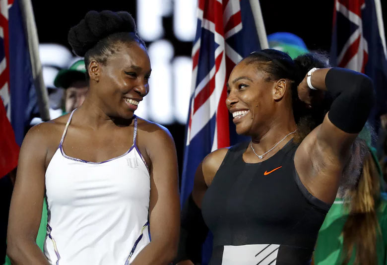 Serena Williams beats her sister Venus Williams to win Australian Open