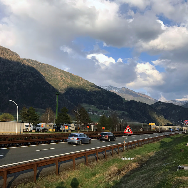 Road between Padova and Trento