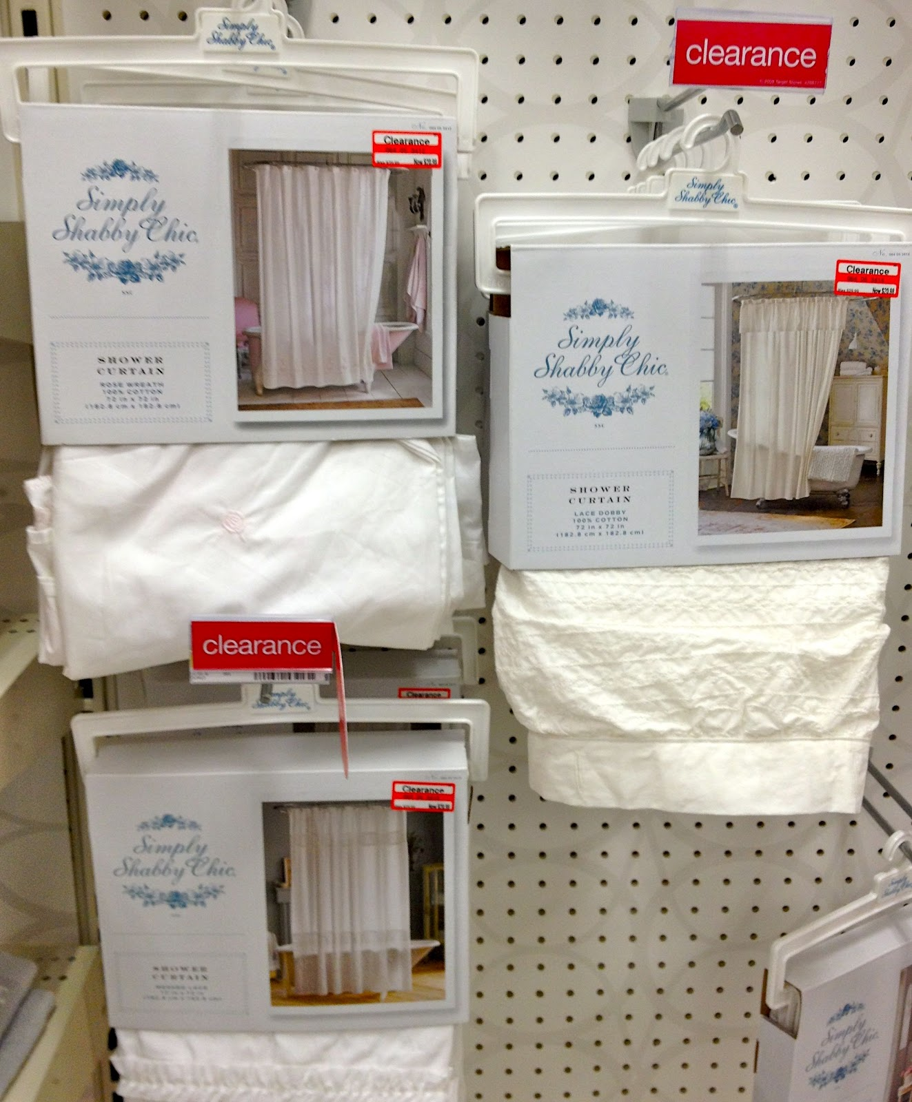 Driven By Décor: Bath Décor Clearance at Target! - Small Country Chic Kitchen Curtains