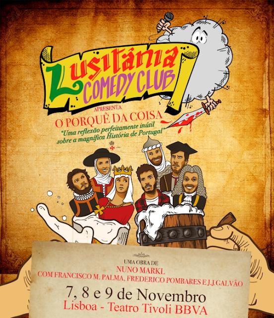 """""""Lusitânia Comedy Club"""" – Um regresso anunciado"""