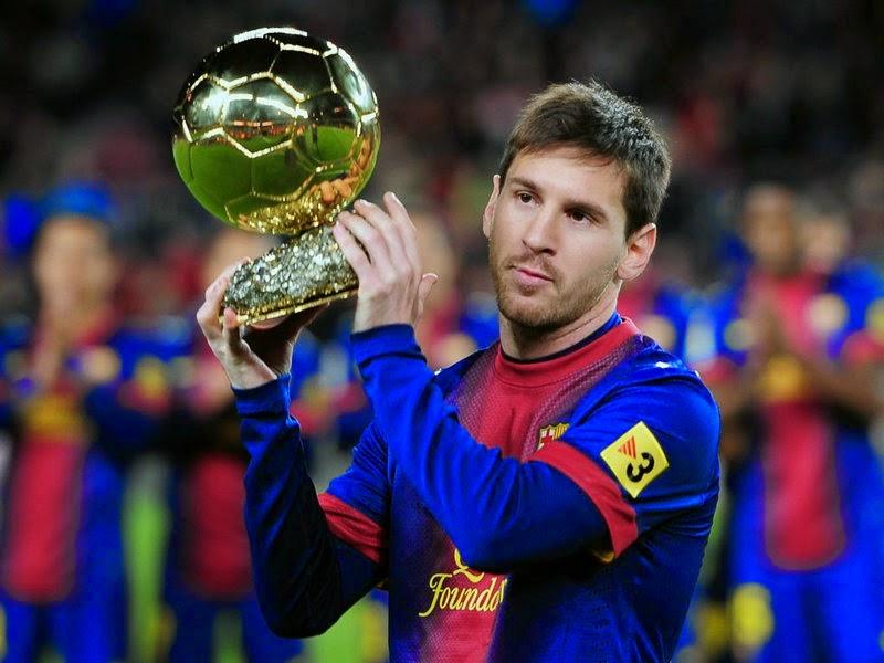 messi Pemain Sepakbola Terbaik