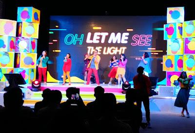 Acara pembuka dalam peluncuran produk digital happyOne.id