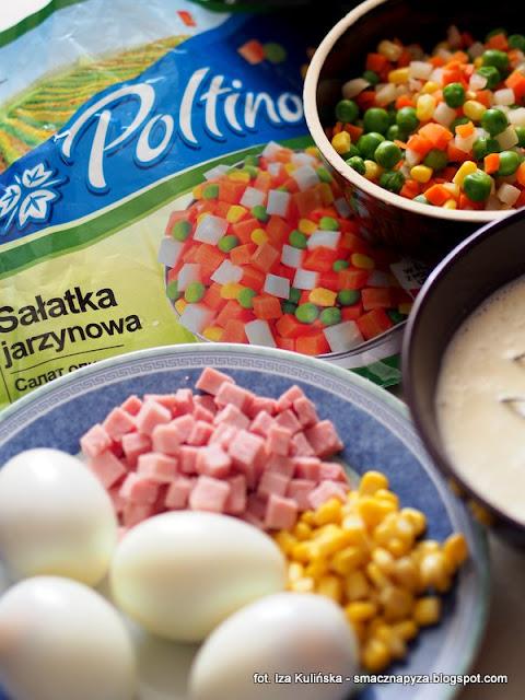 galareta, zimne nozki inaczej, salatka warzywna w galarecie, z jajem, warzywa w galarecie, salatka jarzynowa, mrozonki, warzywa mrozone, poltino, wielkanoc, wielkanocny stol, wielkanocne sniadanie