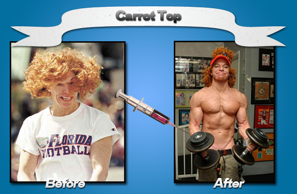 Strength Fighter Carrot Top Synthol