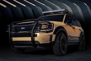Kia Telluride Desert Drifter (2020) Front Side