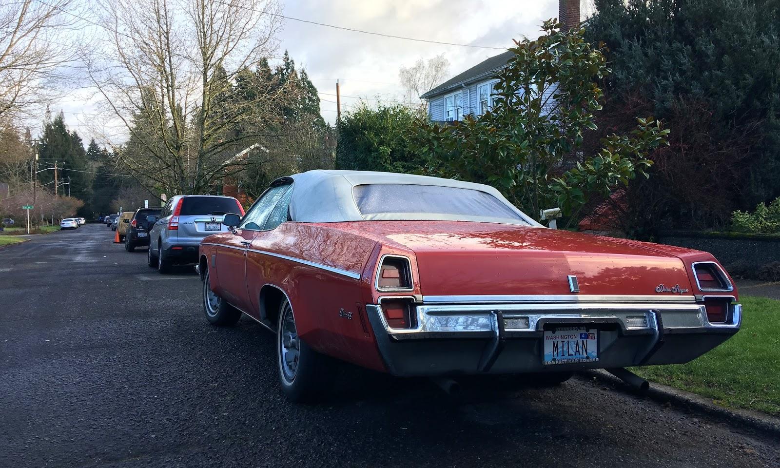 Seattle S Classics 1972 Oldsmobile Delta 88 Royale