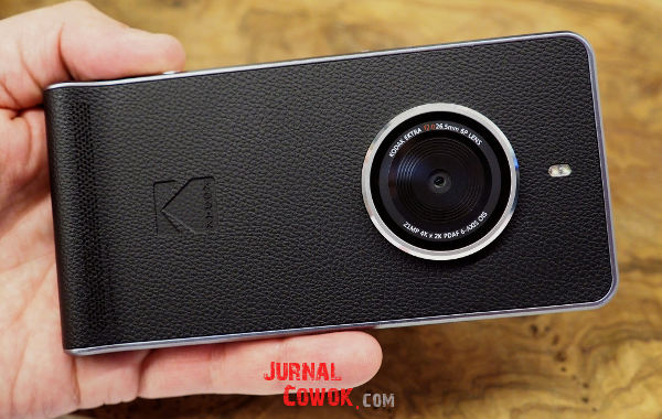 Kodak Ektra smartphone rasa DSLR