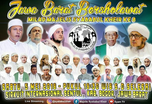 Jawa Barat Bersholawat Mei 2018