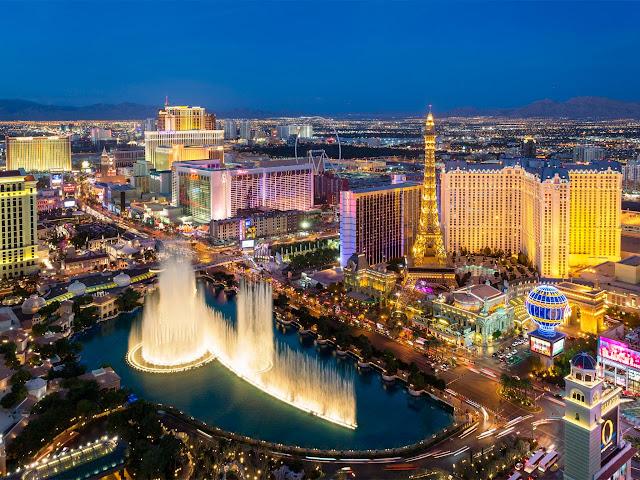 Vé máy bay đi Las Vegas giá rẻ khứ hồi 800 USD
