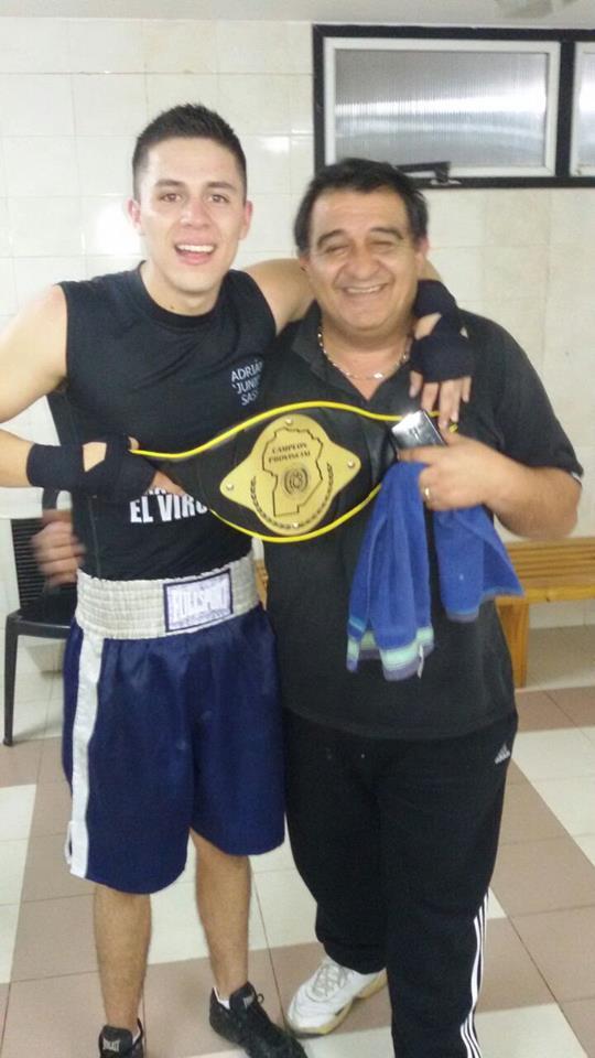 Resultado de imagen para adrian junior sasso boxeador