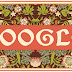 William Morris' 182nd birthday - Google Doodle