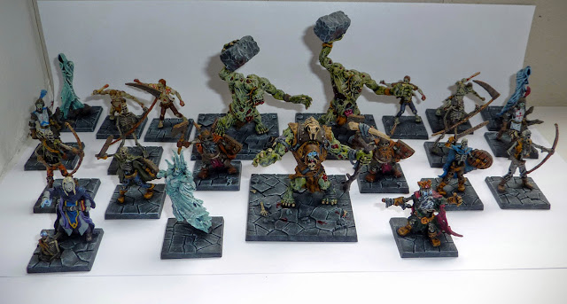 Dungeon Saga: Dwarf King's Quest painted evil dead
