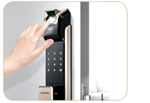 Sự cần thiết lắp đặt Khóa cửa điện tử cho căn hộ cao cấp