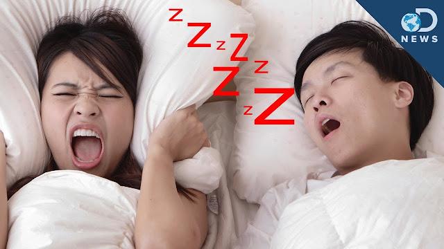 اضرار الشخير اثناء النوم