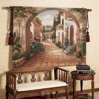 Classical concept on tuscan home decor