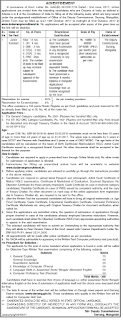 Office of the Deputy Commissioner Darrang District Junior Assistant Vacancy Recruitment Exam