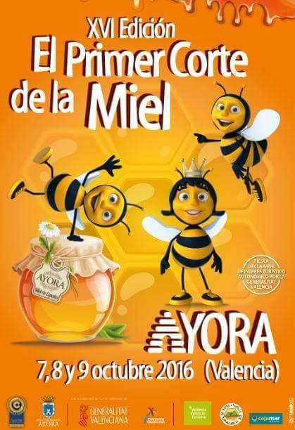 XVI EDICION DEL PRIMER CORTE DE LA MIEL EN VALENCIA - XVI EDITION FIRST CUT OF HONEY IN VALENCIA.