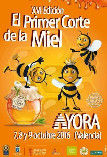 XVI EDICION DEL PRIMER CORTE DE LA MIEL EN VALENCIA - XVI EDITION FIRST CUT OF HONEY IN VALENCIA.