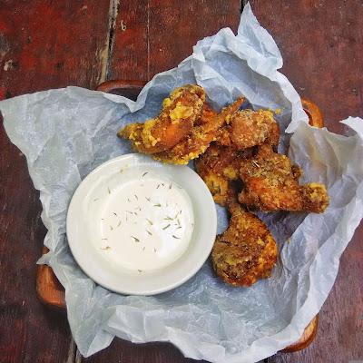 garlic parmesan chicken wings , buffalo chicken wings
