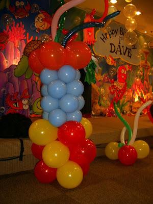 Balon Standing, Balon Ultah, dekorasi balon