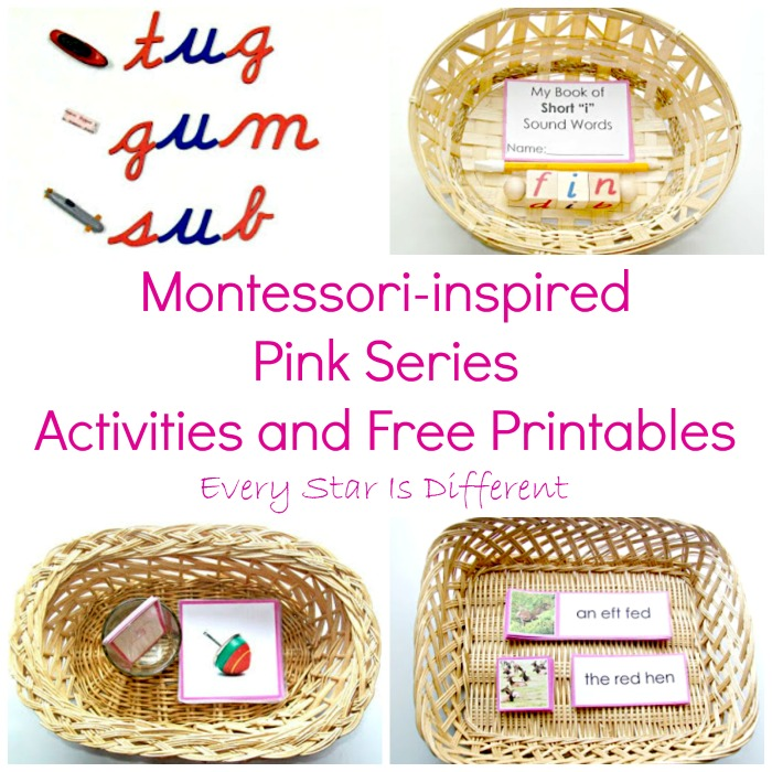 Pink Series Activities