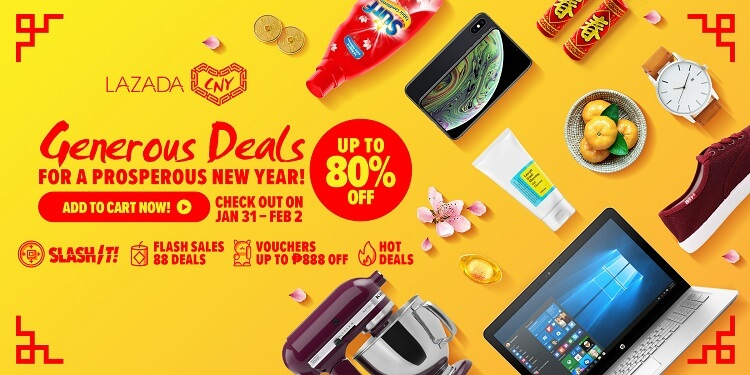 Lazada Shares Top Deals and Picks for the Chinese New Year