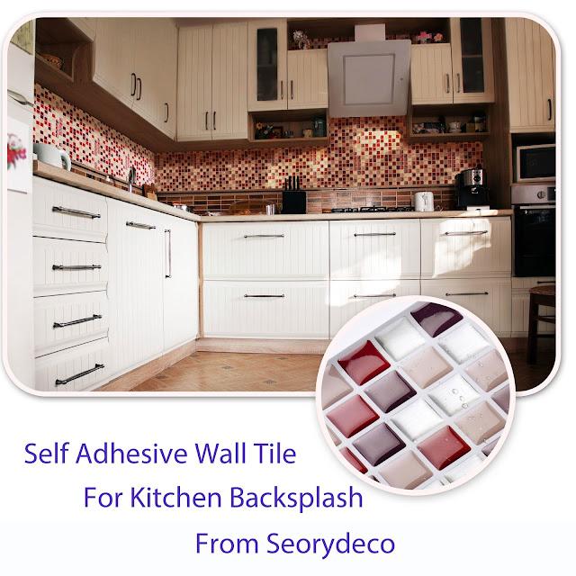 Self Adhesive Wall Tiles Peel And Stick Backsplash Kitchen: Self Adhesive Wall Tile / Peel And Stick Tile