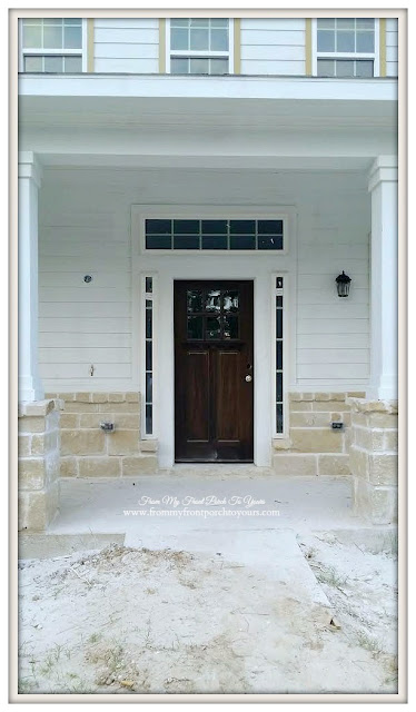 Farmhouse Front Porch-Craftsman Front Door- Front My Front Porch To Yours