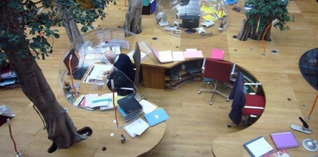 Những mẫu văn phòng công ty được thiết kế độc đáo trên thế giới