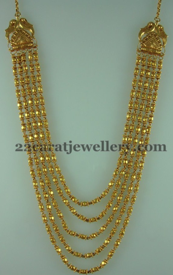 72 Grams Chandra Haram Jewellery Designs