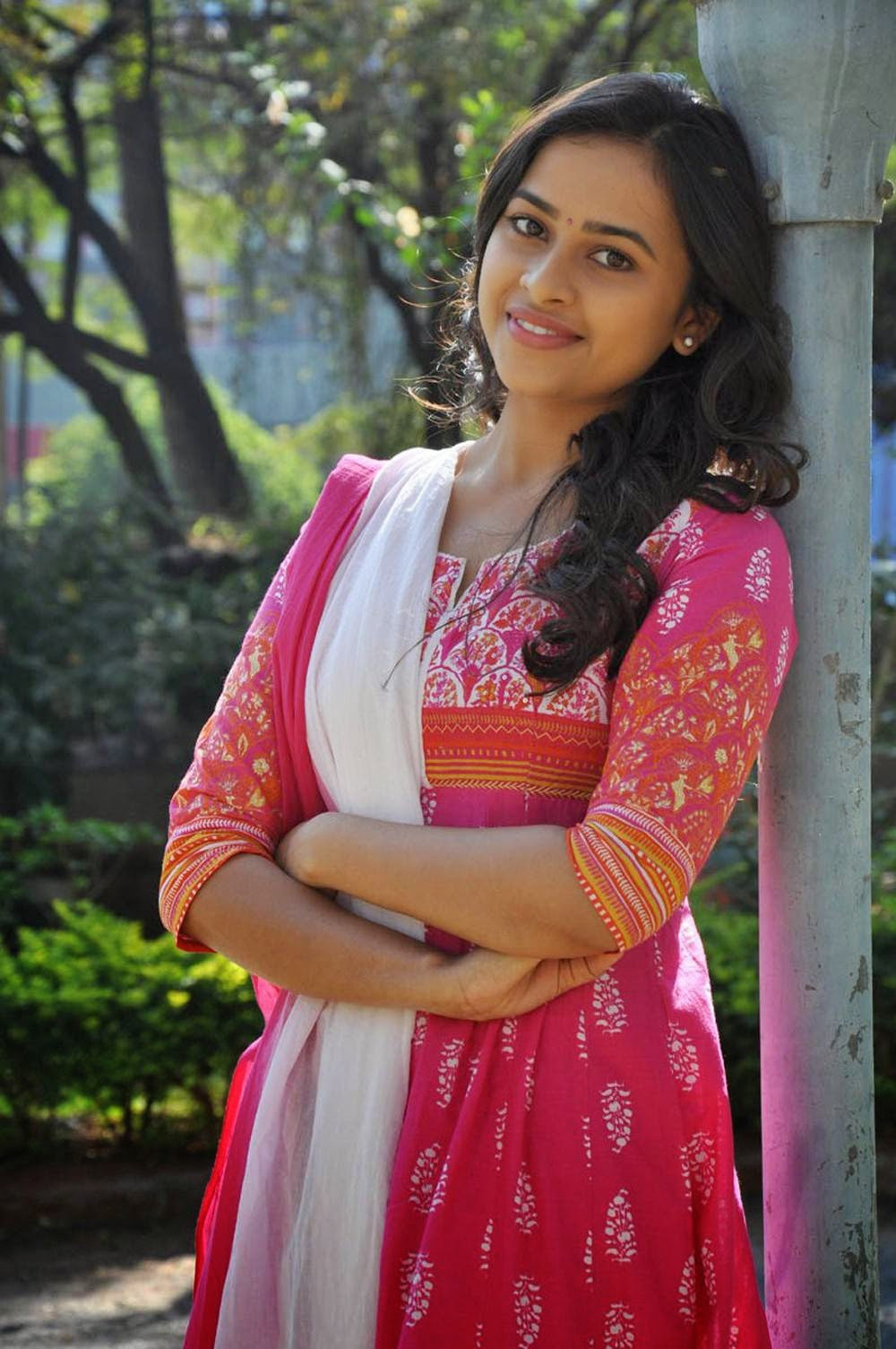 Actress Sri Divya Latest Cute Hot Spicy Photos Gallery At Varadhi Telugu Movie Trailer Launch
