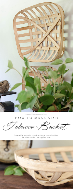 DIY Tobacco Basket