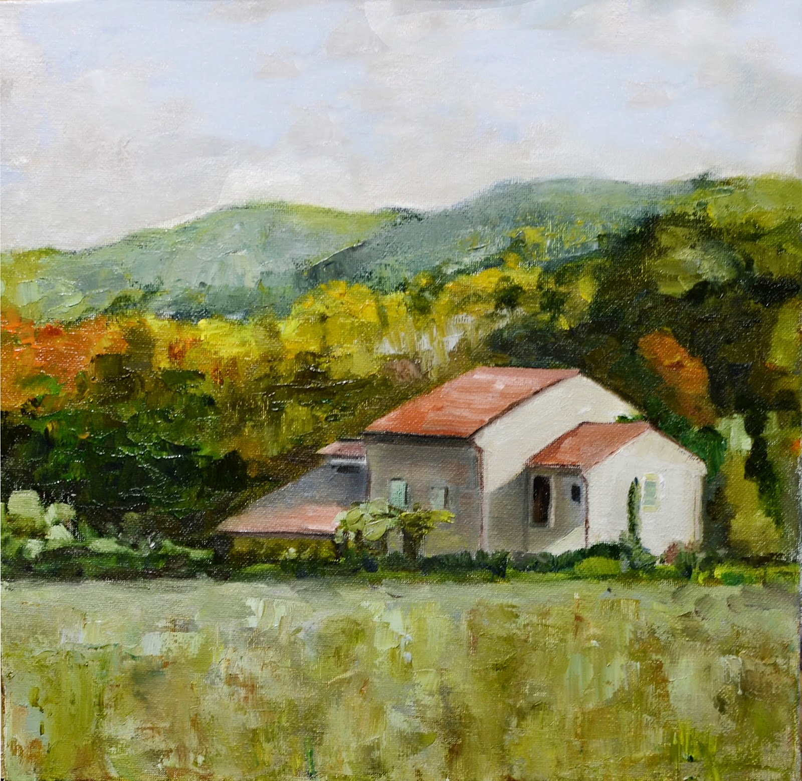 Art Du Jour By Martha Lever: Little Country Cottage