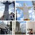 Comunidade do Redentor consegue por meio de parceria e muito suor pintar o Cristo Redentor e a capela do redentor