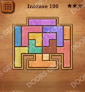 Cheats, Solutions, Walkthrough for Wood Block Puzzle Intense Level 100