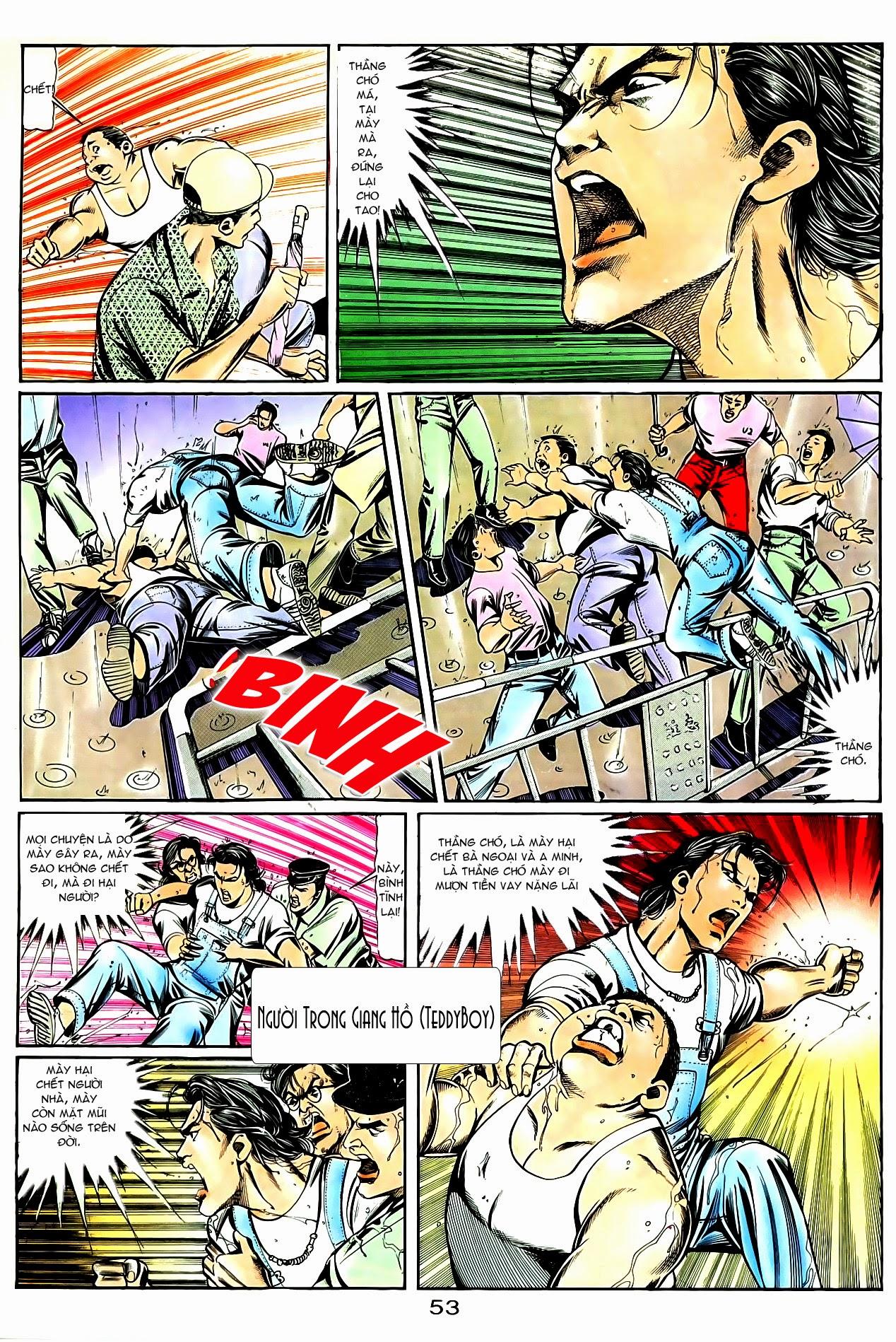 Người Trong Giang Hồ chapter 85: diệt môn trang 26