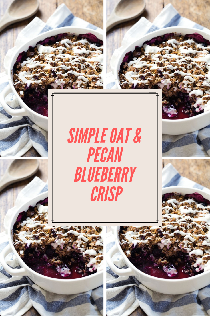 #simple# oat #& #pecan# blueberry #crisp