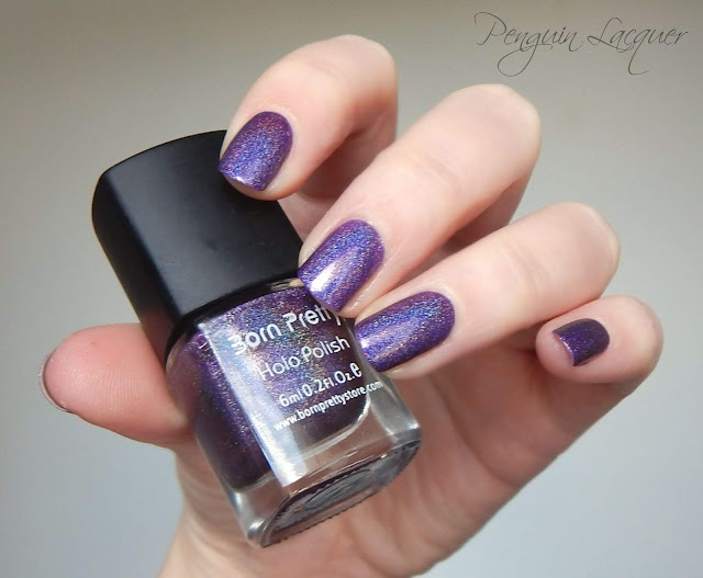 Born Pretty Store Holo Polish 11 indirect light