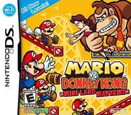 Mario vs. Donkey Kong: Mini-Land Mayhem!, NDS, Español, Mega, Mediafire