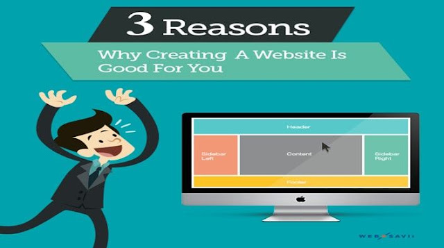 3 Reasons Why Creating A Website Is Good For You
