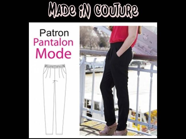 Et Fluide Pantalon Bettinael Fashion Col Diy Top V passion couture LMjSUzqVpG