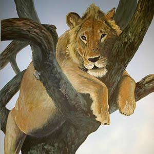 Gemälde und Tierportraits