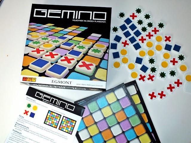 """""""Gemino""""- Logiczna gra z potencjałem nowość od Wydawnictwa Egmont"""