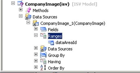 Microsoft Dynamics AX: How to add company logo into query