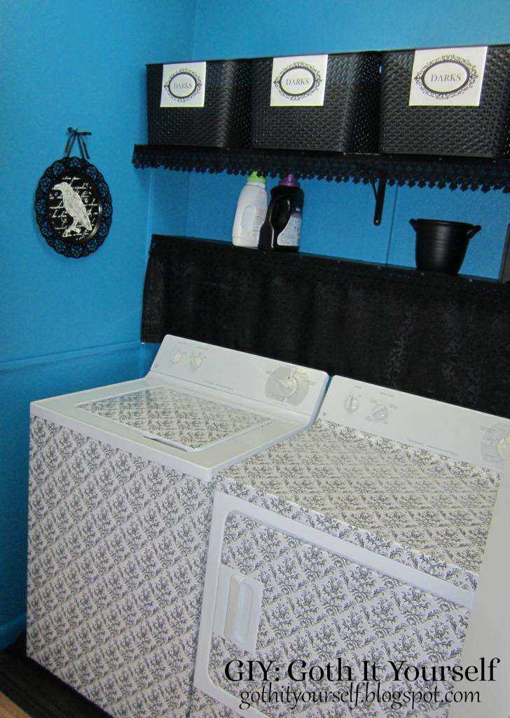 Giy Goth It Yourself Laundry Closet
